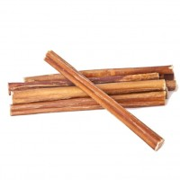 """NATURE'S OWN PET CHEWS 6"""" ODOR FREE JUNIOR BULLY STICK"""