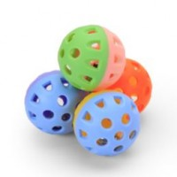 CAT BALL TOY WITH BELL #6911-A