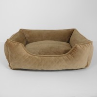 """33"""" X 25"""" X 10"""" COCONUT MAX DELUXE LOUNGER DOG BED"""