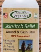 4oz MAD ABOUT ORGANICS SKIN/ITCH RELIEF