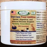 4oz MAD ABOUT ORGANICS CANINE/CAT ORAL FOOD ADDITIVE