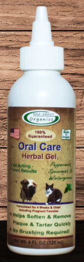 4oz MAD ABOUT ORGANICS CANINE/CAT HERBAL GEL