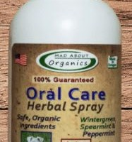 4oz MAD ABOUT ORGANICS CANINE/CAT ORAL CARE SPRAY