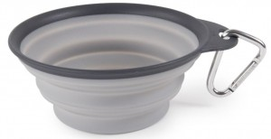 DEXAS GRAY 1CUP COLLAPSIBLE TRAVEL CUP