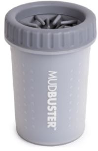 DEXAS LARGE GRAY MUDBUSTER GENTLE PAW WASHER