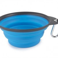 DEXAS BLUE 1CUP COLLAPSIBLE TRAVEL CUP