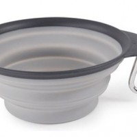 DEXAS GRAY 2CUP COLLAPSIBLE TRAVEL CUP