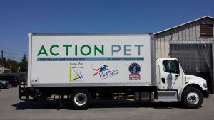 Action Pet Delivery Truck
